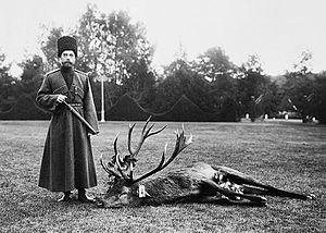Spała - Nicholas II in Spala (1912)