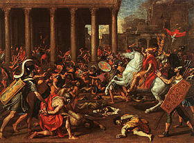 Nicholas Poussin Conquest of Jerusalem by Titus.jpg