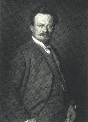 Adolf Miethe - Adolf Miethe around 1905, photographed by Nicola Perscheid.