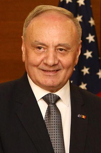 Nicolae Timofti - Image: Nicolae Timofti June 2014 (cropped)