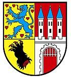 Coat of arms of the city of Nienburg / Weser