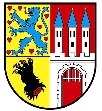 Nienburg, Lower Saxony - Image: Nienburg wappen