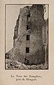 Nieuport 1915-tour des Templiers en ruine.jpg