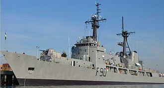 Nigerian Navy - A Nigerian Navy ship, NNS Thunder