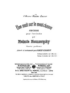 Night on the Bare Mountain Score Title Page Bessel 1886a.jpg