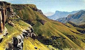 Nikolay Dubovskoy - Image: Nikolay Dubovskoy Mountainous terrain, Kislovodsk 1889