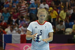 Nina Heglund - Handball at the 2012 Summer Olympics 703394.jpg