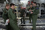 No. 36 Squadron RAAF pilot briefing his aircrew in 2017.jpg