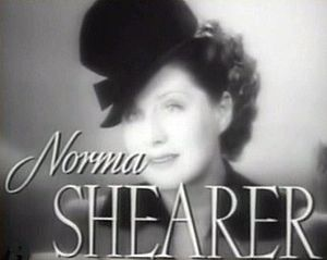Cropped screenshot of Norma Shearer from the t...