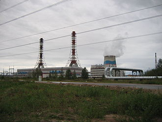 Inter RAO - North-West Thermal Power Plant, St.Petersburg