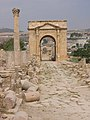 North-gate in Jerash.JPG
