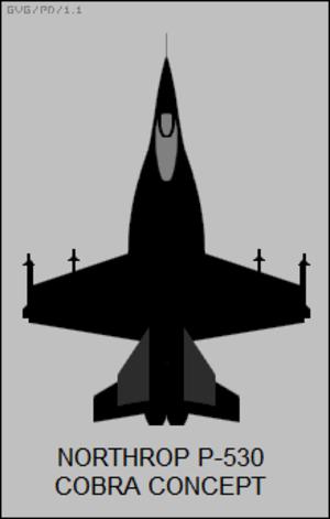 Northrop YF-17 - P-530 concept