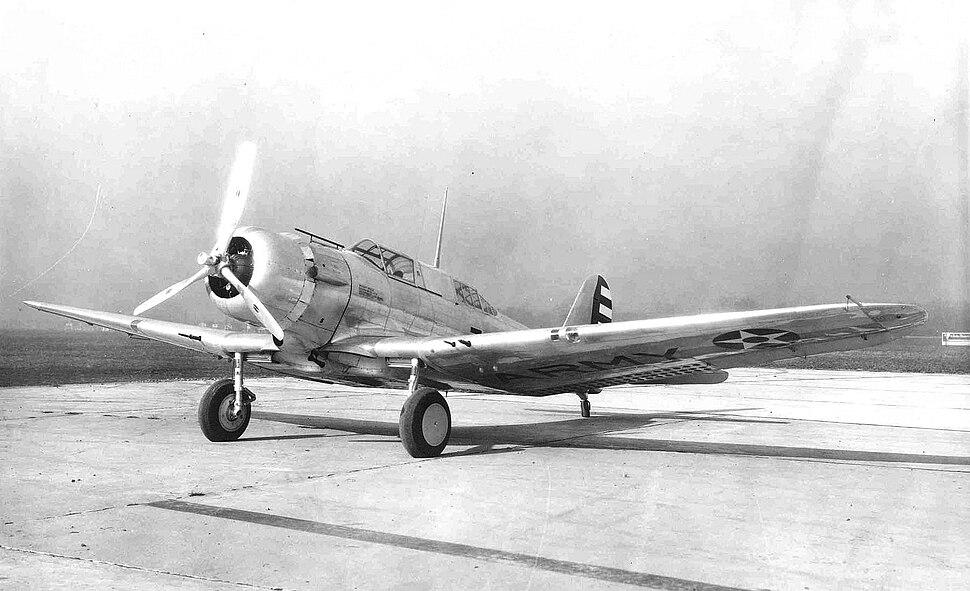 Northrup A-17A 36-162 USAF Museum