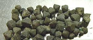 Northupite - Northupite octahedra