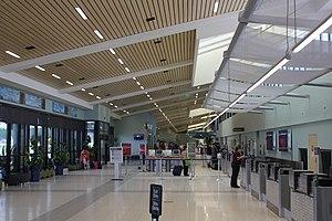 Northwest Florida Beaches International Airport - Inside the airport