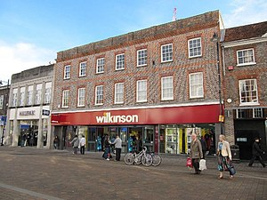 Wilko (retailer) - A high street Wilko, using the 2009–2014 logo (2010)