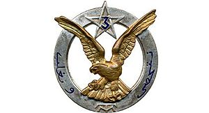 3rd Moroccan Tirailleurs Regiment - Regimental badge of the 3rd Moroccan Tirailleurs Regiment