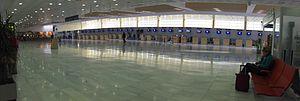 Almería Airport - Image: Nueva terminal Almería