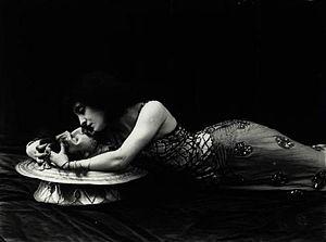Lyda Borelli - Lyda Borelli in Salomé by Oscar Wilde.