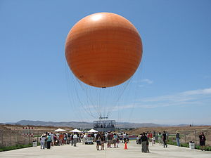 Orange County Great Park - The balloon ride was the first attraction to open at the Orange County Great Park