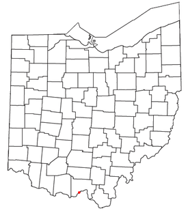 Location of Friendship, Ohio