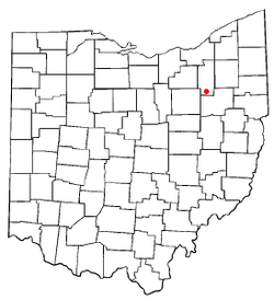 Location of New Franklin, Ohio