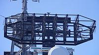 OPS-11C Radar(Front view) on board JS Hatakaze(DDG-171) at Port of Sakaisenboku 20141019.JPG