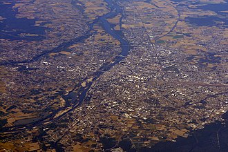 Orléans - Orléans from above