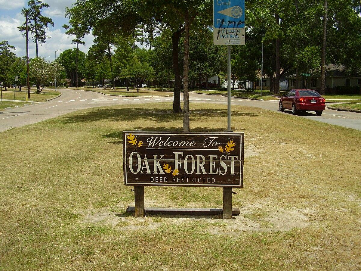Oak Forest, Houston - Wikipedia
