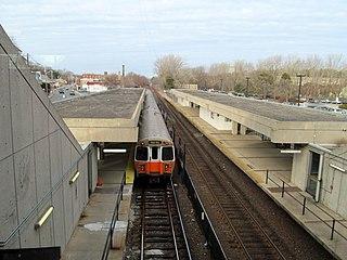 Oak Grove station Boston MBTA subway station