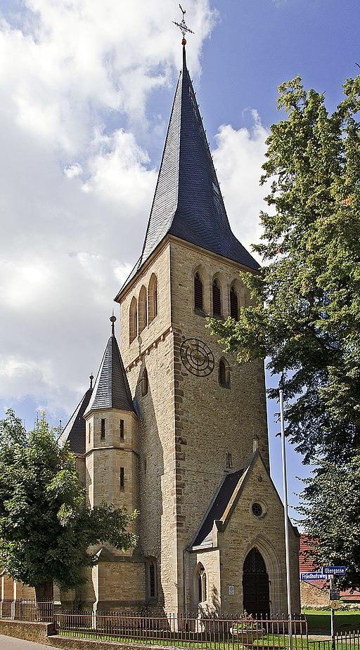 Ober Hilbersheim Evangelische Kirche 20100831
