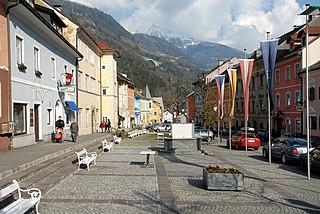 Obervellach Place in Carinthia, Austria
