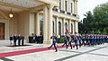 Official welcome ceremony was held for Bulgarian President Rumen Radev 2.jpg