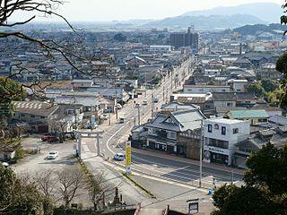 Ogi, Saga City in Kyushu, Japan