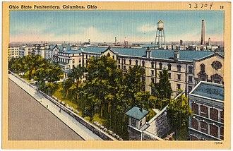 Ohio Penitentiary - Image: Ohio State Penitentiary, Columbus, Ohio (73704)