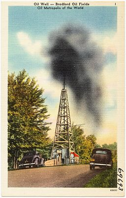 Oil Well -- Bradford Oil fields, oil metropolis of the world (69693)