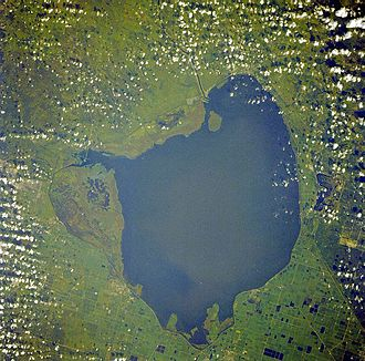 Lake Okeechobee - from space, September 1988