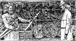 Sigvatr Þórðarson - King Olaf presenting a sword to Sigvatr Þórðarson, Christian Krohg, 1899