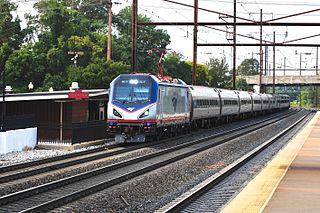 <i>Silver Meteor</i> Amtrak train route between New York and Miami, Florida