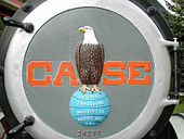 "eagle on glob with ""CASE"""