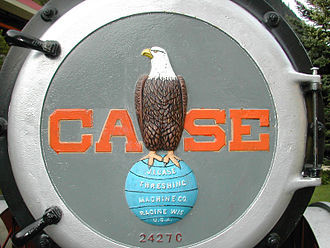 8th Wisconsin Volunteer Infantry Regiment - Jerome Case chose the eagle mascot as the trademark of Case Corporation