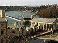 Old Philadelphia Waterworks with Gardens, Pavilions, Overlook and Dam (2012).jpg