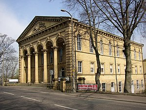 Cleckheaton - Image: Old Providence Congregational Chapel