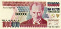 Old Turkish banknotes used during the inflation (one million, five millions, ten millions and twenty millions).xcf