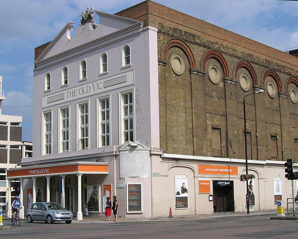 Old Vic theatre London Waterloo