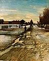 Ole Juul - Village Street - Landsbygate - Nasjonalmuseet - NG.M.03672.jpg