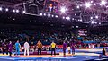 Olympic Freestyle Wrestling at Excel - 96kg Gold Medal Winner - Victory Ceremony 001.jpg