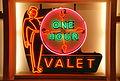One hour valet neon sign -- Kalamazoo Valley Museum 055 (6780375850).jpg