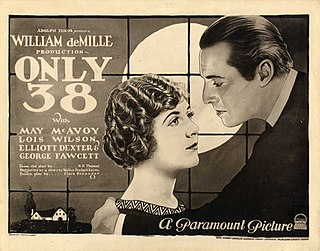 <i>Only 38</i> 1923 film by William C. deMille
