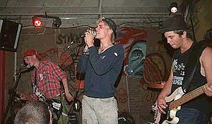 Ska punk - Ska punk band Operation Ivy performing live at 924 Gilman Street in 1988